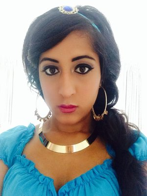 Dressed up as Princess Jasmine today for a Disney Themed Event