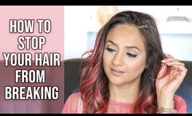 How to Stop your Hair from Breaking off