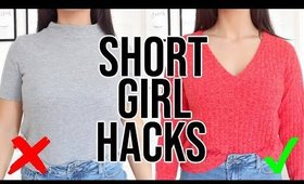 HOW TO LOOK TALLER | 10 PETITE GIRL STYLING TIPS YOU NEED TO KNOW !