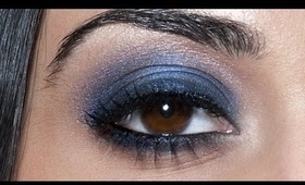 Sapphire Smoky Eyes: HD Makeup Tutorial