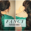 Fancy Ponytail & Half Fishtail Braid Tutorial Video | Cute long Hairstyles