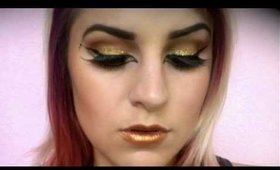 Halloween Series: Cleopatra Makeup Tutorial
