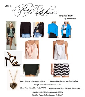 Two  cheap and easy recreations of Hanna's sassy style!