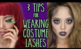 How to Apply Halloween and Costume False Eyelashes
