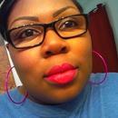 Bright lip chocolate skin