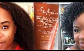 How to Stretch Short Natural Hair| Tension Method | Shawnte Parks
