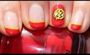 DC Comic Series: The Flash Nail Tutorial