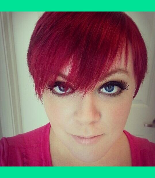 Red Pixie Cut Ashley P S Ashleypyle Photo Beautylish