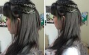 Back To School: Simple Braided Hairstyle for School