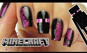 MINECRAFT ENDERMAN NAILS | CutePlay Countdown #1!