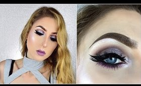 Smokey Taupes w/ a Pop Of Color ♡ Glowy Summer Makeup Tutorial