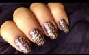 James Bond Nail Polish Designs - 2012 Bond girls nail art collection design in gold spun sugar