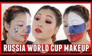 Russia World Cup 2018 Makeup Tutorial