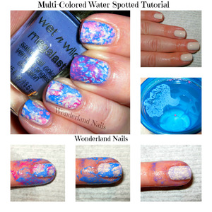 for more info please visit my blog http://wonderland-nails.blogspot.com/2013/07/tutorial-multi-colored-water-spotted.html