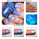 Multi-Colored Water Spotted Tutorial