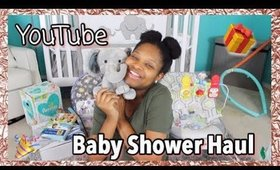 MY SUBSCRIBERS GAVE ME A BABY SHOWER! | Baby Shower Haul