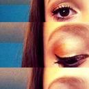 Orange blend eyes