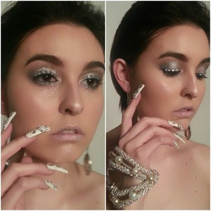 Makeup|Hair|Nails: Tiffany G. (me) Photographer: https://www.facebook.com/Melanieadphotography Model: http://www.jessabalough.com/