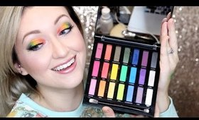 Urban Decay FULL SPECTRUM RAINBOW GOODNESS PALETTE Review!