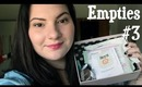 Empties #3: Beauty, Skincare, and Haircare | OliviaMakeupChannel