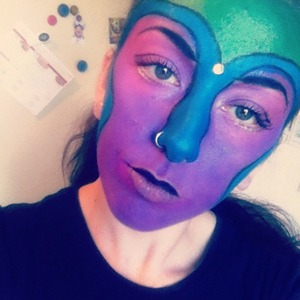 Inspired by my galactic fuzzy poster.