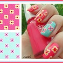 Nails by Flower Fabric