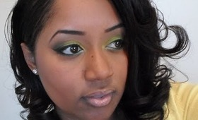 Tutorial: Smoky Lemon Lime FOTD
