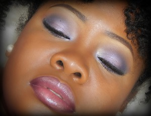 Black Radiance cosmetics used for this look. Drugstore Brand.
