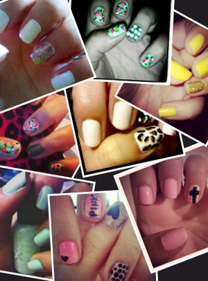 my nails ober the past few months