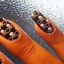 Halloween Nail Applique from Michael's