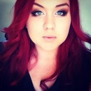 Way back when my hair was very red!