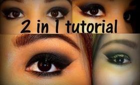 2 in 1 Smokey eye tutorial - vcruzbebe