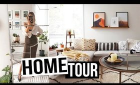 HOUSE TOUR    🌿 [p a r t  1]   Earthy, Neutral, Boho Style   🌲| Karissa Pukas HOME