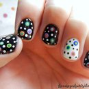 Crazy Dot Nails