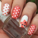 Teddy bear and polka dots