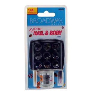 Broadway Nails Deluxe Nail and Body Art Kit