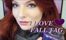 I LURVE FALL TAG