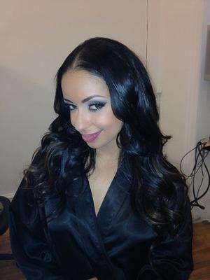 My work on Grammy winning recording artist Mya during Mercedes Benz Fashion Week Sept 2012