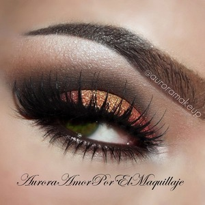 instagram @auroramakeup previous post has the details and pictorial =D