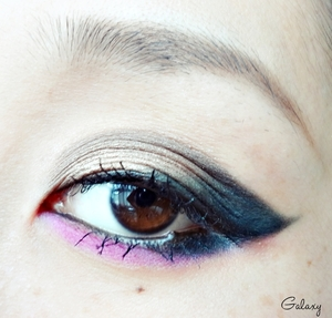 beyonce party music video inspired eye look