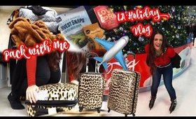Get Ready with Me TRAVELING TO Los Angeles   Pack with Me & Holidays in California Vlog