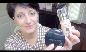 Max FactorX FACEFINITY All Day Flawless(1ères impressions)Routine teint/Nathalie-BeautyOver40