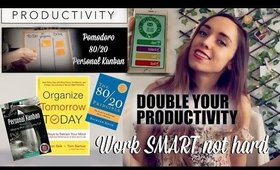 """Double your PRODUCTIVITY as a freelancer or student! - DAY 12 """"TYLA CHALLENGE"""""""