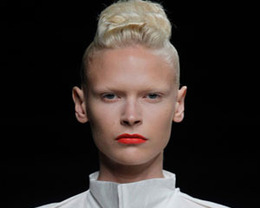 Rick Owens Makeup, Paris Fashion Week S/S 2012