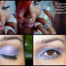 """Rihanna's """"What's my name?"""" Inspired Look"""