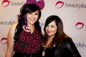 The gorgeous Jasmine and me @ the Beautylish Meet & Greet!