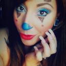 Cute Girly Clown