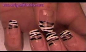 Snooki nails!!