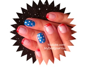 4th OF JULY NAIL ART FOR SHORT NAILS. https://www.youtube.com/watch?v=51KjmtuZtco