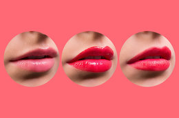 1 Lipstick, 3 Different Finishes. It's Easy!